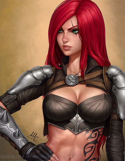 Picture- Fierce Katarina by..