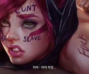 League NTR #1 - Xayah - part 3